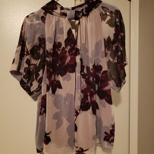 Rachel Roy flowered blouse